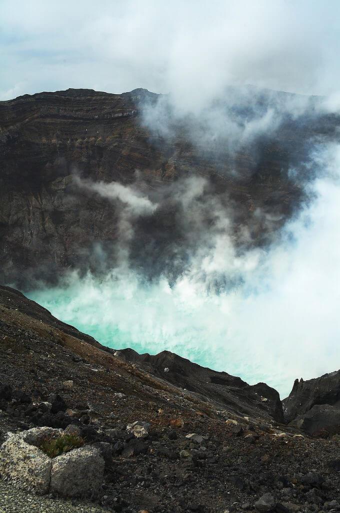 活火山である阿蘇山は噴火するのか?