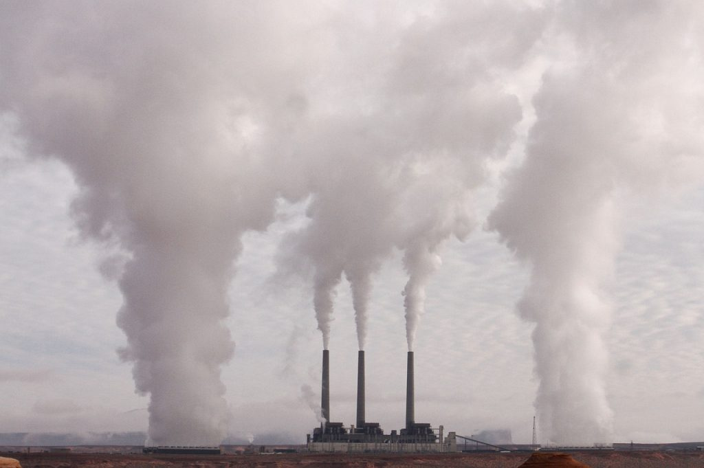 排出権取引で排出量の削減