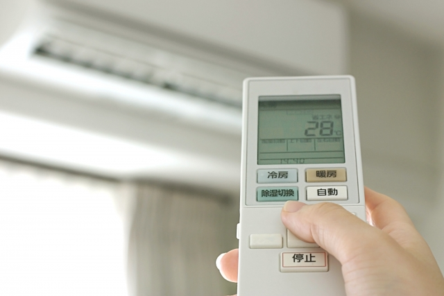 エアコンなど家庭でできる省エネの例
