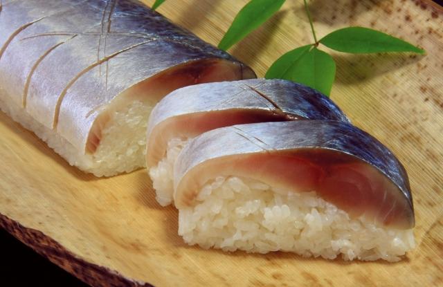 鳥取名物「鯖寿司」
