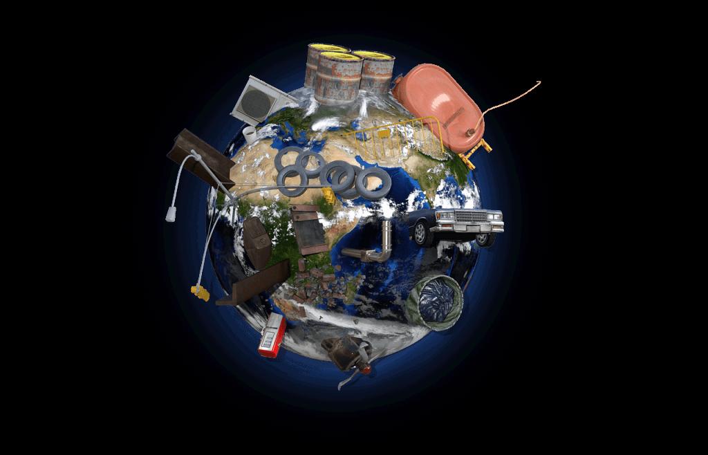 環境問題へつながるゴミ問題