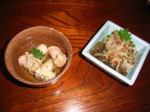 博多の郷土料理「おきゅうと」